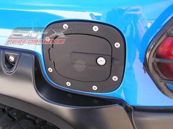 All Sales 6071kl Black Toyota Fj Cruiser Fuel Door With Lock