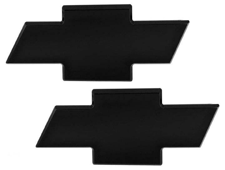 All Sales 96100k 07 2013 Chevy Silverado 1500 Black Bowtie Emblem
