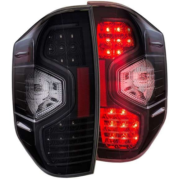 Anzo 311233 2014 2015 Toyota Tundra Led Tail Lights Clear