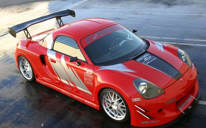 Toyota Mr 2 Spyder S Gt Widebody Aerodynamic Kit Apr Performance Ab 303000