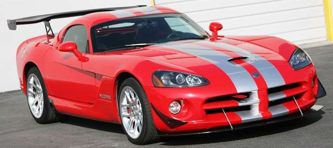 2013-2016 Dodge Viper SRT Style Rear Spoiler (Carbon Fiber) |Viper With Spoiler