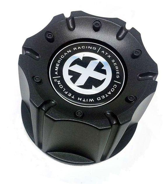 American Racing ATX 1342106018 1342100011 1066K98 Black Wheel Center Cap
