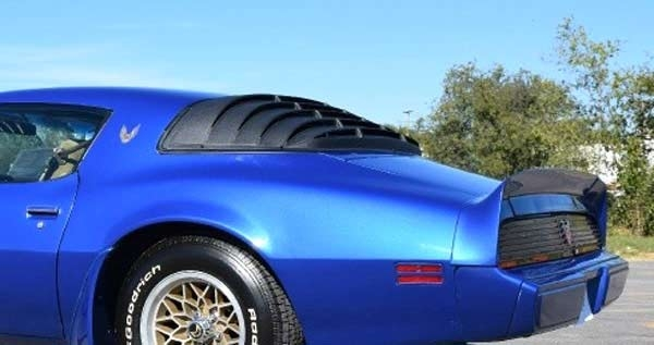 Astra Hammond 1002: One piece Camaro and Trans Am Rear ...