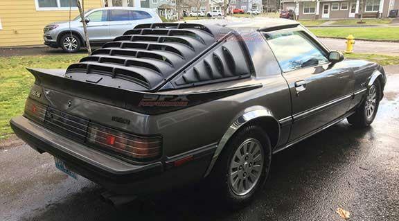 1978-1985 Mazda Rx7 Side Window Louvers