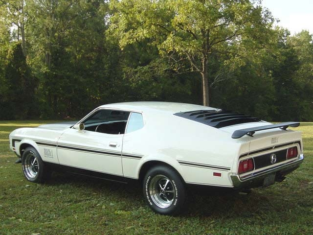 1971 1972 1973 Ford Mustang: The Big Beast - The Motoring ...