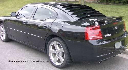 2006 2010 Dodge Charger Rear Window Louvers Aluminum