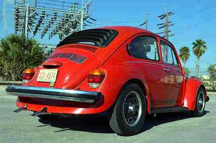 Astra Hammond 1087 1973 1978 Volkswagen Beetle Rear