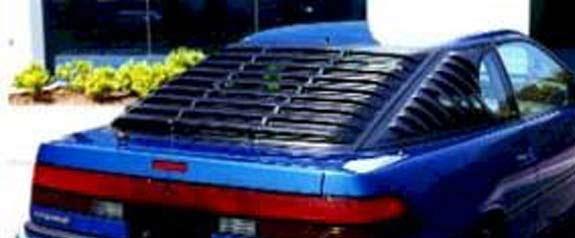 1988 1992 Ford Probe Rear Window Louver