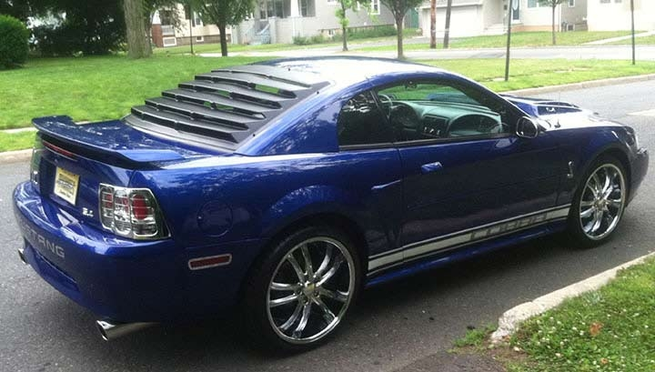 Mustang rear louvers pictures to pin on pinterest pinsdaddy for 2000 mustang rear window louvers