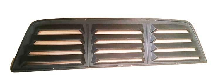 Led Light Bulbs For Cars >> Astra Hammond 6027: Dodge D50 Rear Window Truck Louvers ...