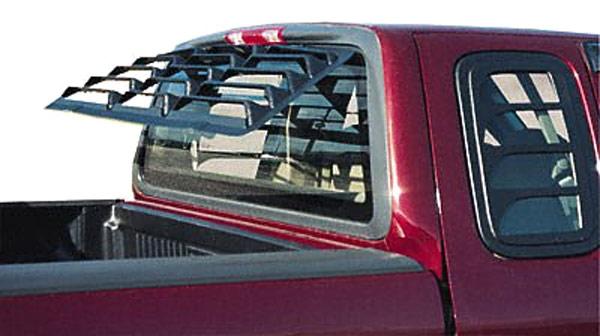 Astra Hammond 6054 Rear Window Truck Louvers 1997 2003