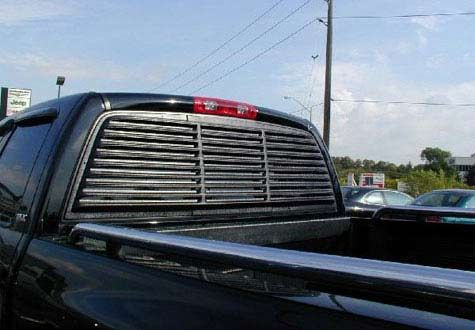 Astra Hammond 6062 Truck Rear Window Louver For 02 07