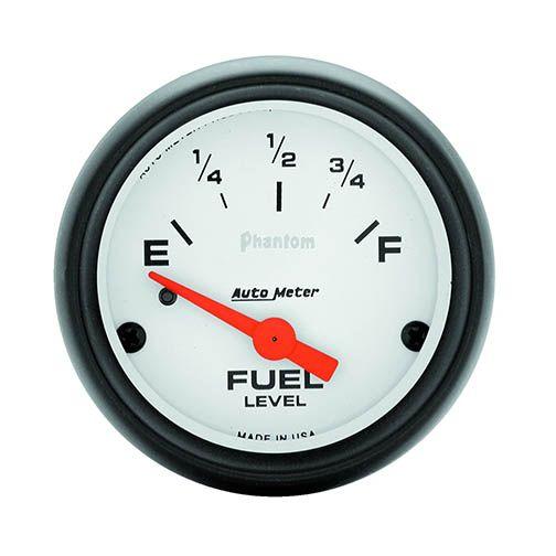 Autometer 5714: Phantom Series; Fuel Level Gauge Universal