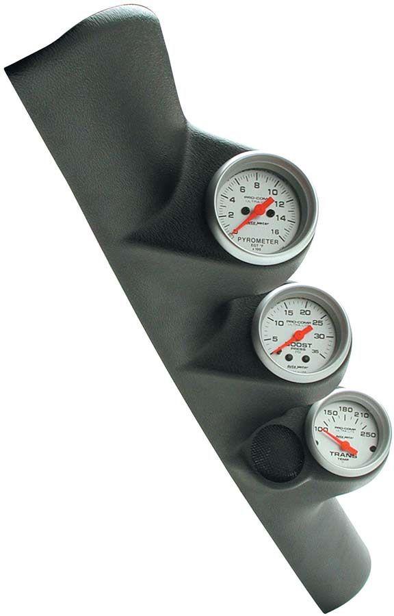 Diesel Gauge Kit Ultra Lite Series Triple Pillar Boost