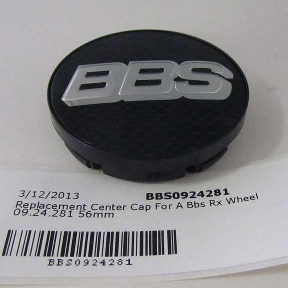 BBS 0924281: Carbon Fiber Center Cap Bbs Rx Wheel 56mm 4 Tab