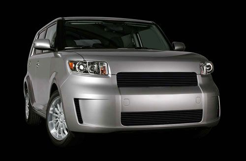 grille black 2008 2009 scion xb cnc side scoops carriage. Black Bedroom Furniture Sets. Home Design Ideas
