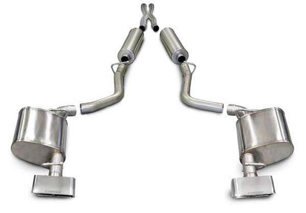 Corsa 14527 2011 2015 Dodge Challenger Sport Exhaust System