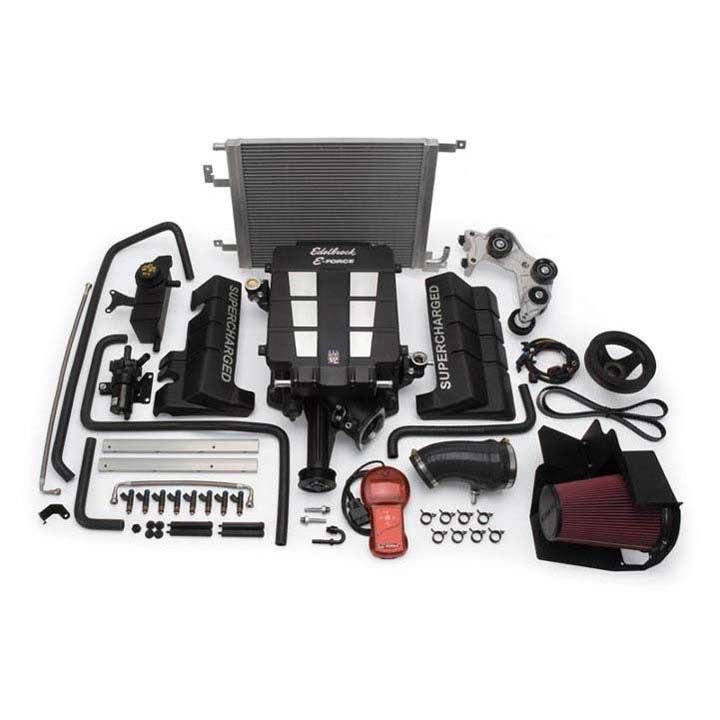 Roots Supercharger Kits: Edelbrock 1531: 5.7l Dodge Charger Roots Style Supercharger