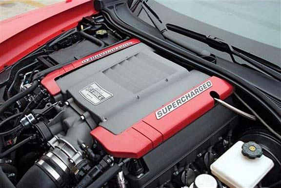 Edelbrock 1570 2014 16 Stingray Z51 Supercharger 624 Hp