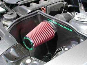Bmw Z4 Cold Air Intake Heat Shield And Air Filter Racing