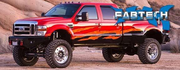 Fabtech K2055db 6 Inch Lift Kit 08 10 Ford F450 F550 4wd