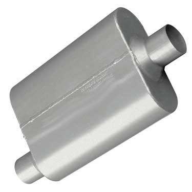 Kia Performance Center >> Flowmaster 42441: 40 Series Muffler 2.25 offset-in/center-out