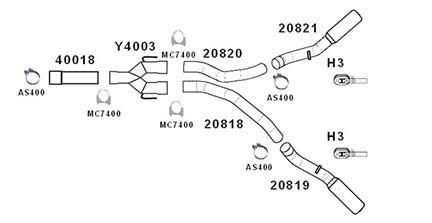 flo pro 729  2007 dodge ram 2500 3500 6 7l 4 inch