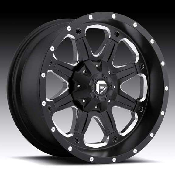 Fuel boost d534 wheel black machined fuel d534 boost 17