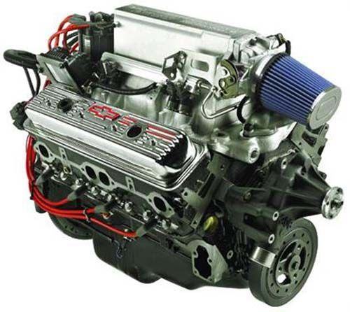 350 Chevy Engine In Jaguar: Gm Replacement Parts 12499120: Engine Complete Assembly