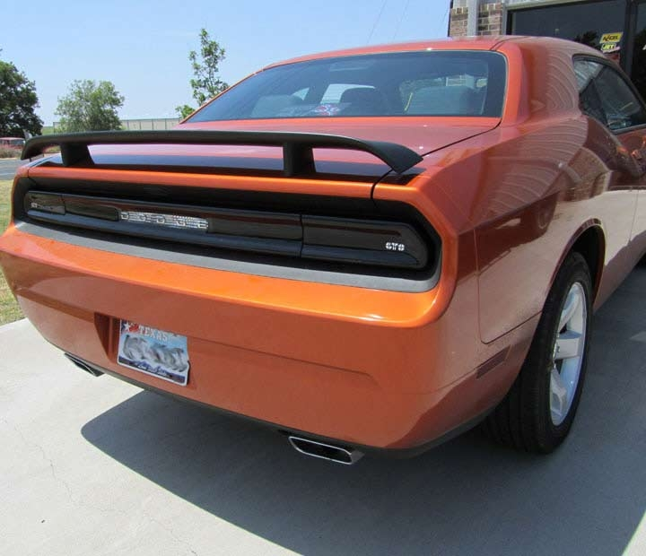 dodge challenger blackout tail light covers gt styling gt4165. Black Bedroom Furniture Sets. Home Design Ideas