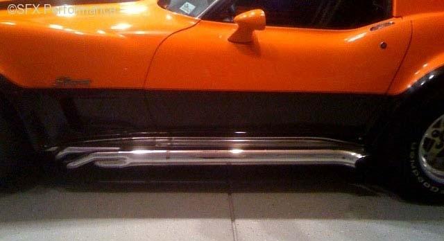 Hooker 65284 1963 1982 Corvette Chrome Side Pipes For Use