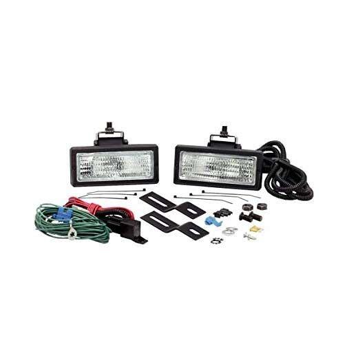 kc hilites 517  back up    flood lights 2x6 black plastic 55w
