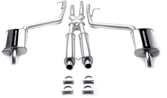 magnaflow 15710  exhaust system lincoln ls 00