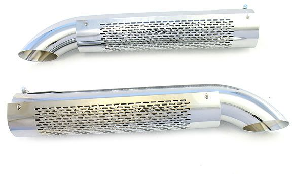 Patriot Exhaust H3824: Side Tubes Turnout With Shield 26 ...