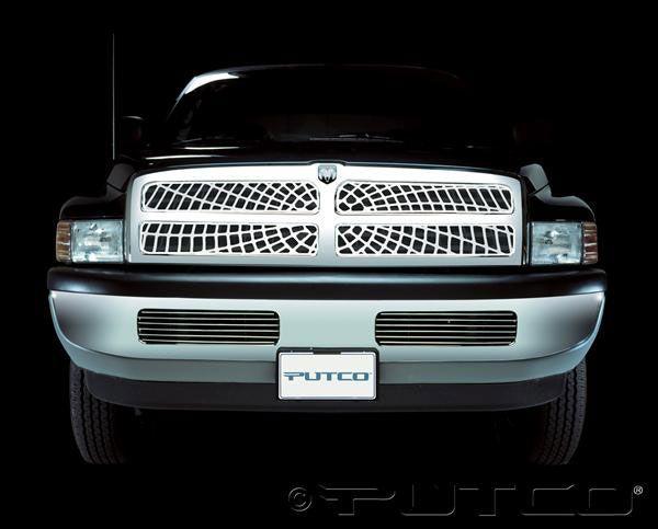 dodge ram 1500 putco grille boss grilles spider liquid 2001 sport 1994 web shadow billet except bumper insert exhaust wheel