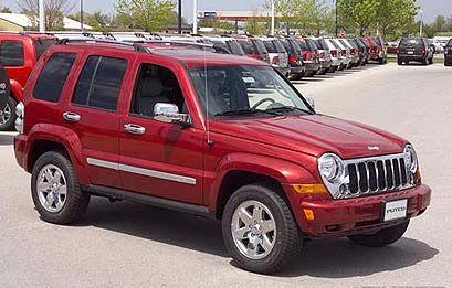 Jeep Liberty Chrome Trim Kit 2002 2004 Putco 405037