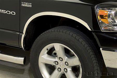 Dodge Ram 3500 Dually >> Putco 97303: Dodge Ram Dually Box - Full (not Mega Cab) Stainless Steel Fender Trim