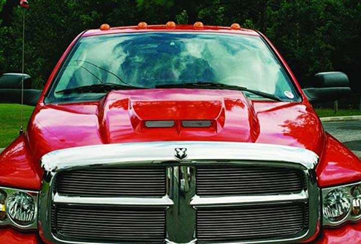 Custom Truck Headlights >> Reflexxion 702801: 02-09 Dodge Ram Cowl Induction Hood