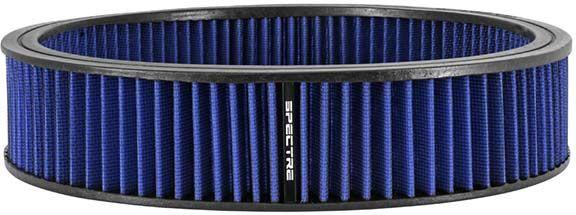Spectre 48026: 14 Inch Diameter X 3 Inch Tall Round Blue Air Filter