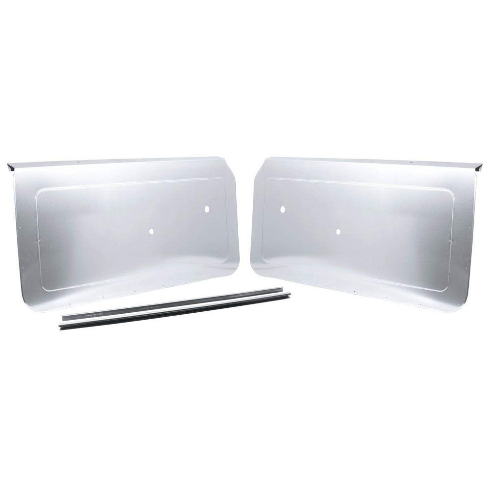 Aluminum Door Panels : Camaro custom aluminum door panels autos post