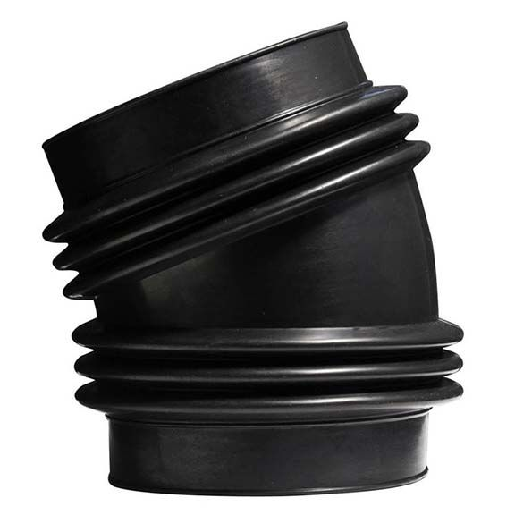 Gm Performance Air Intake Elbow Rubber Black Chevy Small: Spectre 9770: Intake Coupler 4 In 22 Degree Double Flex