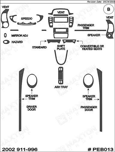 superior dash peb013-cf  dash kit