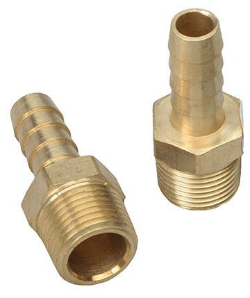 Straight fuel hose fittings brass pr transdapt