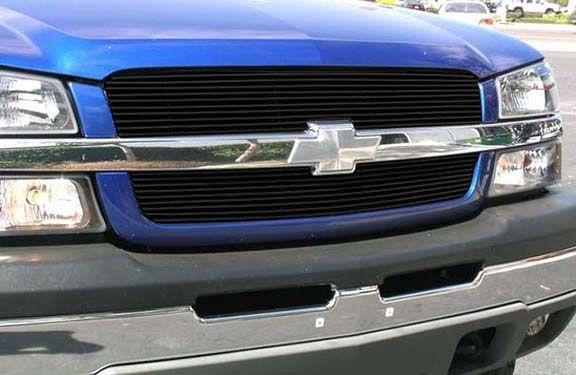 TRex 21100B: 2003-2005 Chevrolet Silverado Black Billet Grille