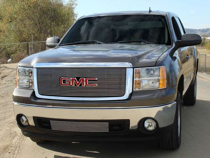 T Rex Car Price >> Trex 21205B: 2011-13 Gmc Sierra Black Billet Grille