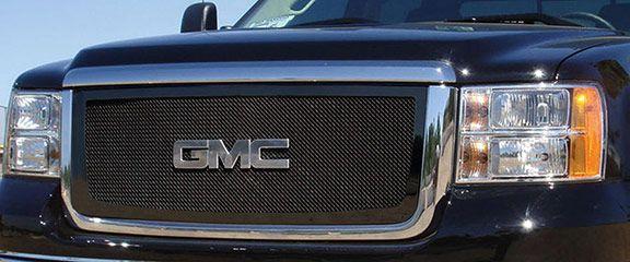 Trex 51206 Gmc Sierra Hd Black Mesh Grille