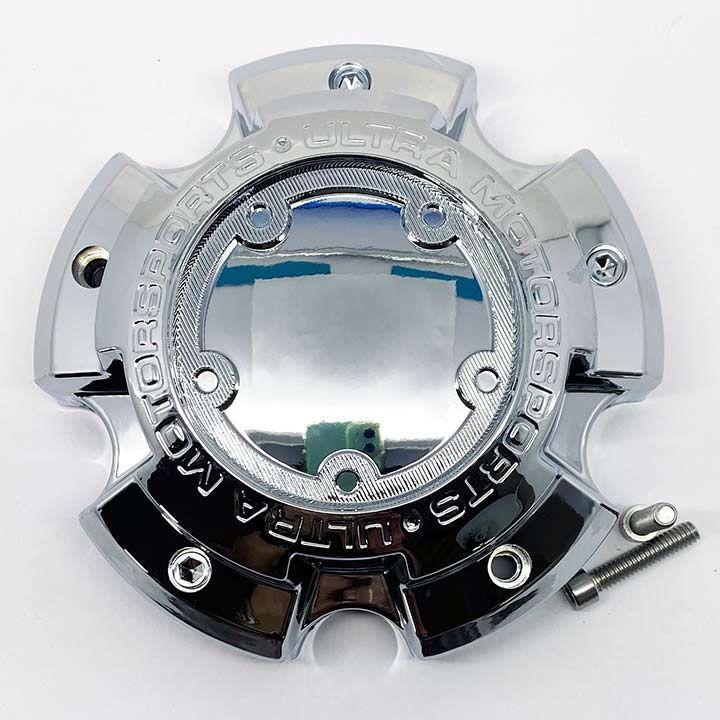 Ultra A89 9850 Ultra Wheel Center Cap 5x150 Chrome