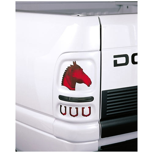 Aftermarket Performance Car Parts >> Vtech V27502K: Chevy Truck Horse Tail Light Covers 1999 ...