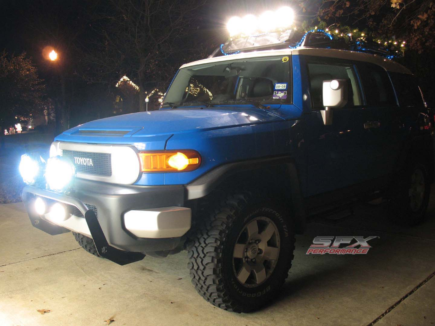 Custom Toyota Fj Cruiser Trailer Wiring Christmaslights Fjchristmaslights