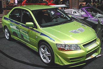 Good Mitsubishi Lancer Evolution VIII Car Too Fast Too Furious. Although The Evo  8 Comes Loaded From The Factory There Are Alot Of Performance Mods  Available For ...